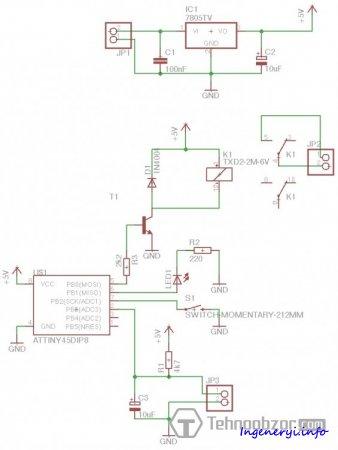 А. Схема контроллера пайки