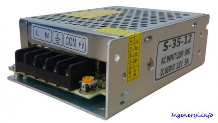 Импульсной блок питания S35-12V