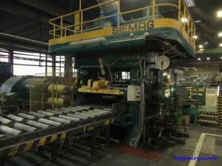 Стан горячего проката листового металла SIEMAG 202 ALT