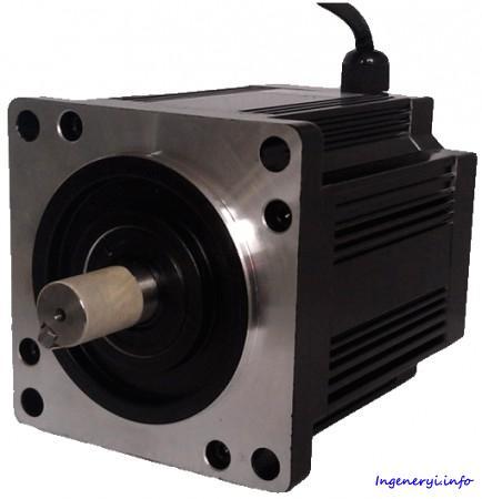 Шаговый двигатель NT110STH, 3-х фазный 1.2° NEMA 42