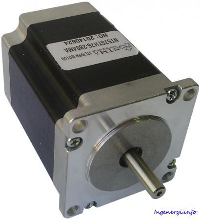 Шаговый двигатель NT57STH 2-х фазный 0.9° NEMA 23