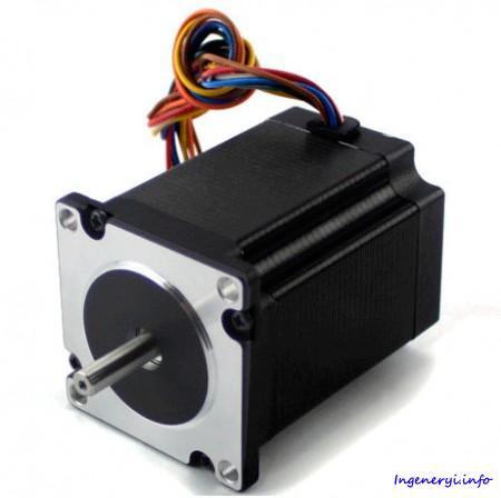 Шаговый двигатель NT60STH, 2-х фазный 1.8° NEMA 24