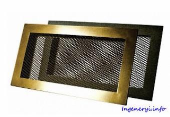 Решетка вентиляционная сетчатая ГАЛ-С