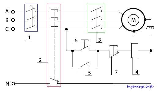 Схема подключения реле напряжения и как он работает