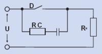 Расчет RC цепи