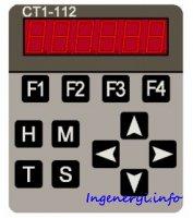 Функции и принцип работы пульта управления СТ1-112
