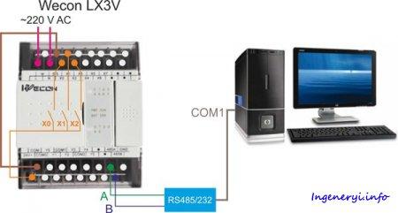 Китайский ПЛК Wecon LX3V-0806MT-A2, часть 2: программирование