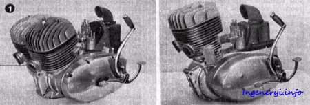 Двигатели мотоциклов ИЖ Планета / Юпитер - 3