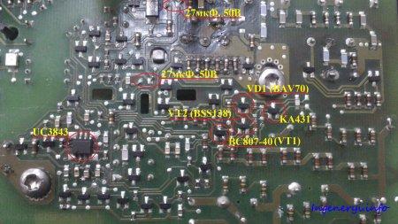 Анатомия импульсного блока питания SITOP power 20 от фирмы SIEMENS. Запуск блока питания. Диагностика и замена элементов пуска.
