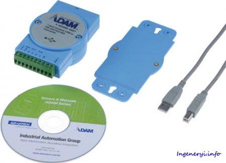 Описание команд обмена данными модуля ввода — вывода ADAM4500 по протоколу DCON