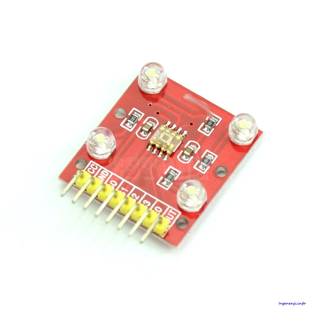 Color sensor using arduino and TCS230 Simple projects