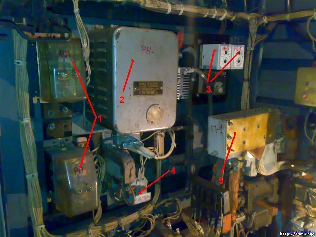 электрическая схема тепловоза тэм 2м