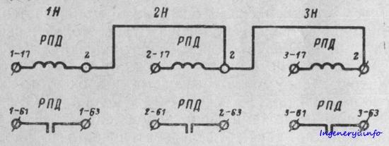 Схемы подключения люстры с 2, 3 56