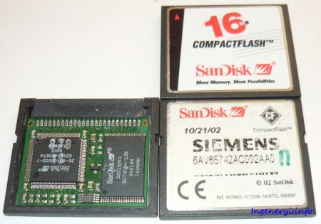 Compact Flash Card for Simatic panels