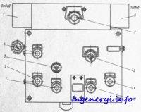 Гидропанель подач 4У4221